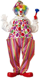clown costumes deluxe snazzy clown costume candy apple costumes see all