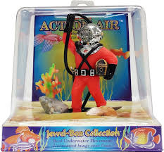 penn plax air diver with hose aerating aquarium ornament 4