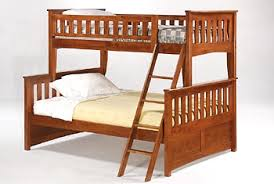 Night  Day Furniture Ginger Twin Full Bunk - Full and twin bunk bed