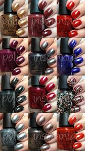 polish insomniac opi skyfall collection swatches and review