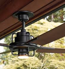 black industrial ceiling fan peregrine industrial led ceiling fan led 4 blade ceiling fan