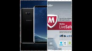 antivirus for samsung android enable mcafee antivirus on samsung galaxy s8 best feature of