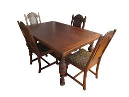 bernhardt gothic dining set chairish