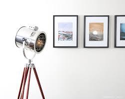 Tripod Floor Lamps Trent Austin Design Brushton 62