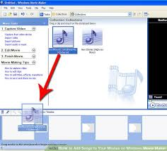 how to add songs to your movies on windows movie maker 7 steps