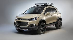chevy tracker off road chevy trax active concept arrives at sema with extra off road prowess