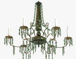 Chandelie Big Antique Classic Chandelier In Brass Finish 3d Model Max Obj