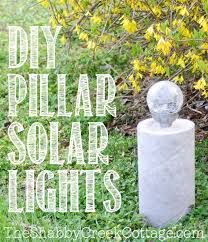 Solar Stake Garden Lights - diy solar garden light