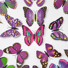 Amazon ElecMotive 24 Pcs 3D Butterfly New Home Decoration DIY