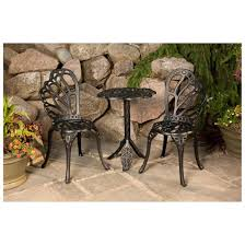 Castlecreek Patio Furniture by Flowerhouse Twin Butterfly Bistro Set 425237 Patio Furniture