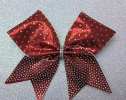 bow supplies cheer bow etsy