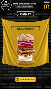 Creat Your Meme - the besada pre lunch burger mcdonald s create your taste know