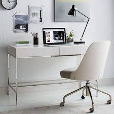 West Elm Office Desk Glam White Desks For Your Home Office In Every Style And Price Range