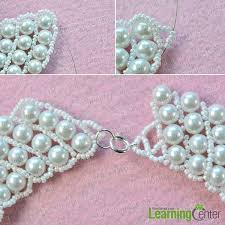 making necklace with bead images Pearl jewelry design how to make a handmade white pearl bead jpg