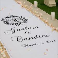 aisle runners logo monogram wedding aisle runner aisle runners wedding aisle