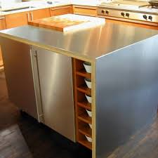 Stainless Steel Outdoor Countertops Brooks Custom by Stainless Steel Kitchen Island With Wood Top Archives Gl Kitchen