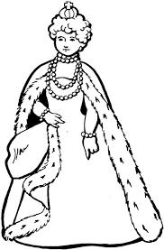 coloriage roi reine prince