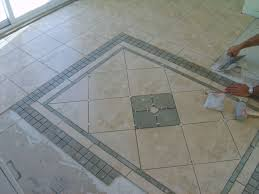 gorgeous tile floor design designed with vintage shade ruchi designs