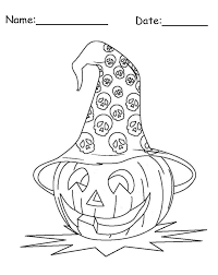 enjoy halloween with halloween themed coloring pages and crafts