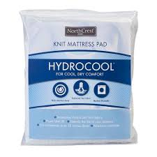 Cool Comfort Mattress Pad Northcrest Hydrocool Mattress Pad Shopko