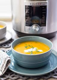 thanksgiving butternut squash soup pressure cooker butternut squash soup recipe simplyrecipes com