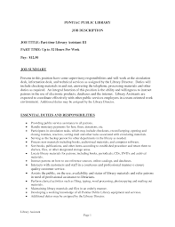 Library Resume Sample Of Resume Objective For Library Assistant Bongdaao Com