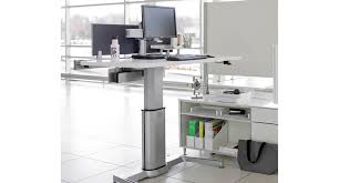 Adjustable Height Desk by Shop Steelcase Airtouch Height Adjustable Desks