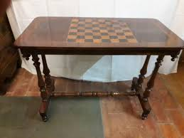 chess board coffee table antique coffee table with chessboard for sale at pamono