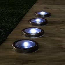 Solar Light Ideas by Solar Lighting For Decks Also Steel Decking Lights Pack Of Ideas