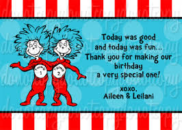 dr seuss thing 1 thing 2 birthday party invitations itsapartee