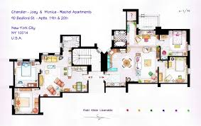 Floor Plans Of My House Floor Plans Of Tv U0027s Best Sitcom Apartments 25 Photos