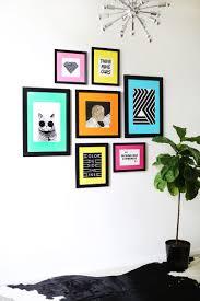 colored mat gallery wall idea u2013 a beautiful mess