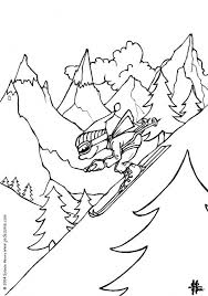 coloring pages about winter winter game coloring pages hellokids com