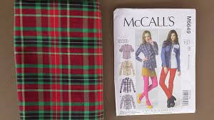 Plaids How To Sew With Plaid Youtube