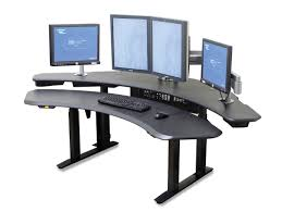 Adjustable Height Desk Crank by Maxo Oversized Ergonomic Desk With Crank Or Motorized Height