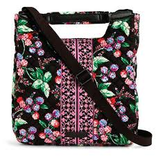vera bradley change it up crossbody bag in winter berry handbags