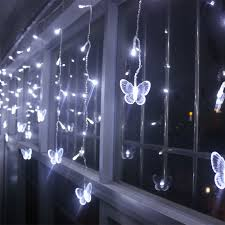 New Year Wedding Decorations by Aliexpress Com Buy 4m Led Curtains Butterfly Garland String