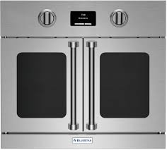 bluestar bsewo30ecsd 30 inch single french door electric wall oven