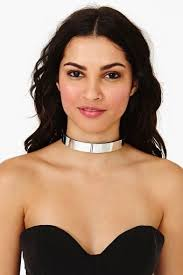 silver metal choker necklace images 153 best collar images necklaces jewelery and jewerly jpg
