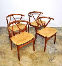 Teak Dining Chairs For Sale Select Modern Set Of Four Henning Kjaernulf For Bruno Hansen Teak
