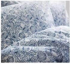 Twin Duvet Cover White Ikea Bladvass Twin Duvet Cover Set Blue White Floral Single