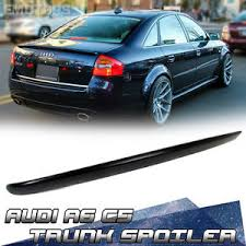 audi a6 spoiler unpainted for audi a6 c5 saloon rear boot trunk spoiler 98 04