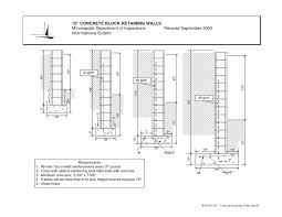 concrete retaining wall engineering design u2022 wall design