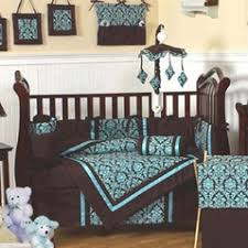 Brown Baby Crib Bedding Blue And Brown Crib Bedding