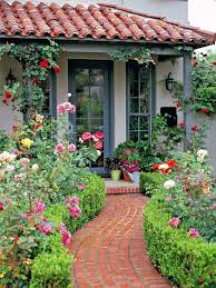 you can plant flowers along the fence making the walkway to your