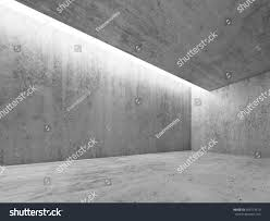 concrete ceiling lighting abstract architecture interior background concrete room stock