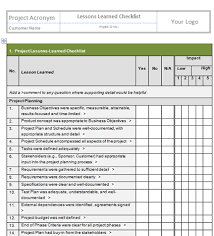 Planning Checklist Business Event Project by Project Closure Checklist Template
