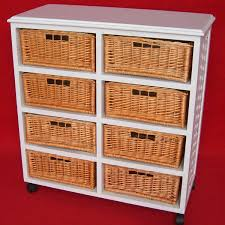 wooden kitchen furniture wicker basket drawers wooden cabinet with
