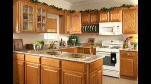 what color countertops with honey oak cabinets honey oak kitchen cabinets youtube