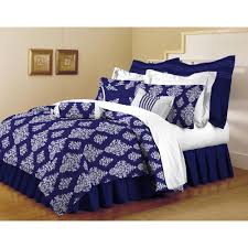 Home Trends Catalog by Home Dynamix Classic Trends Indigo 5 Piece King Comforter Set K